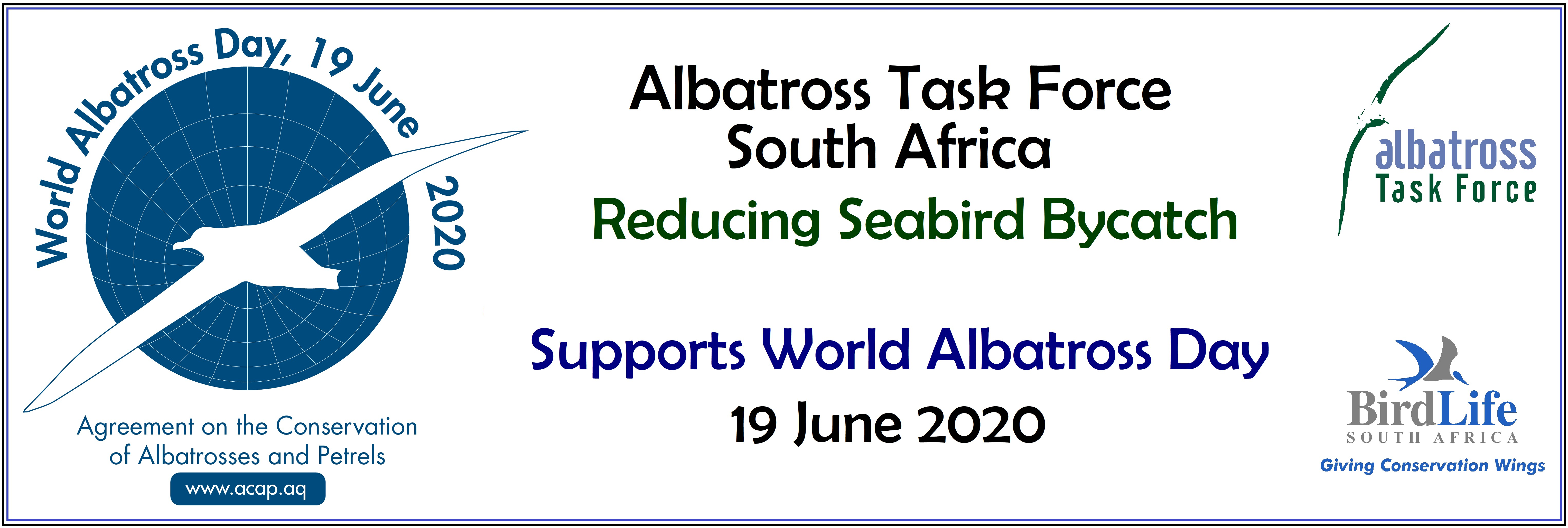World Albatross Day SA ATF banner Jan 2020