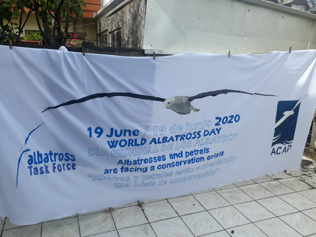 AWD2020 Banner for trawl in Chile by Diego Segovia