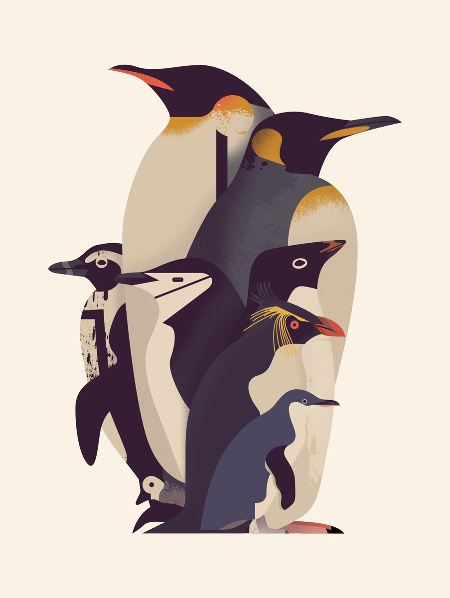 World Penguin Day 2019 Owen Davey